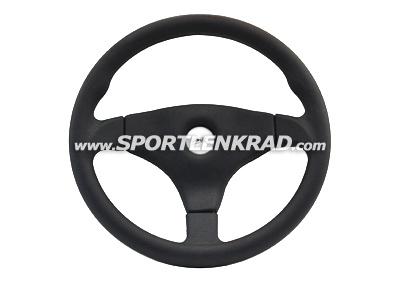 Grip Pad Sport-Lenkrad, Kunststoff 35,5, sw. Speiche