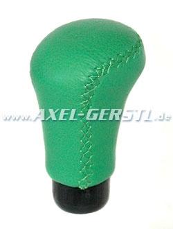 Luisi Schaltknauf, kurz, Leder, grün