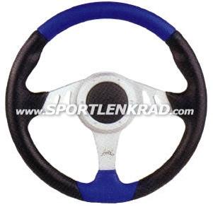 Chrono Sport-Lenkrad, Polyurethan sw./blau, Alu-Speiche