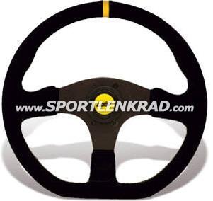 Stealth Corsa Sport-Lenkrad, Leder sw.