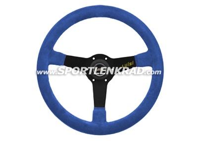 Mirage Sport-Lenkrad, Wildleder blau (... Farbe .../19 ?)