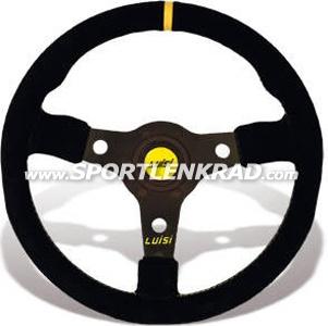 Racing Corsa Sport-Lenkrad, Leder sw./35, sw. Speiche