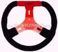 Kart Sport C 280 Plus, 28 cm, Wildl. sw./rot, rote Speiche