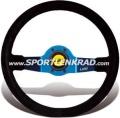 Jet Sport-Lenkrad, Leder sw./35, blaumetallic Speiche