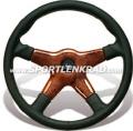 Giba 4 Prestige II Sport-Lenkrad, Leder, 36,5 cm