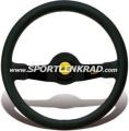 Jet Sport-Lenkrad, Leder sw./35, sw. Speiche
