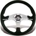 Century Sport 340 Sport-Lenkrad, Alu-Ring/ohne Streifen