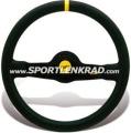 Jet Corsa Sport-Lenkrad, Leder sw./35, sw. Speiche