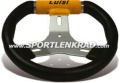 Kart Sport E 280 Kart-Lenkrad, schwarz / gelb