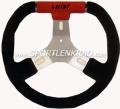 Kart Sport C 280 Kart-Lenkrad, sw./rot