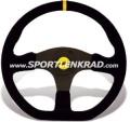 Stealth Corsa Sport-Lenkrad, Wildleder sw.