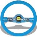 Jet Sport-Lenkrad, Wildleder blau/35, blaumetallic Speiche