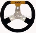 Kart Sport C 280 Kart-Lenkrad, sw./gelb